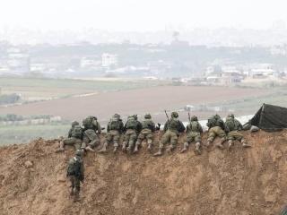 تبادل لااطلاق نار على  حدود غزة