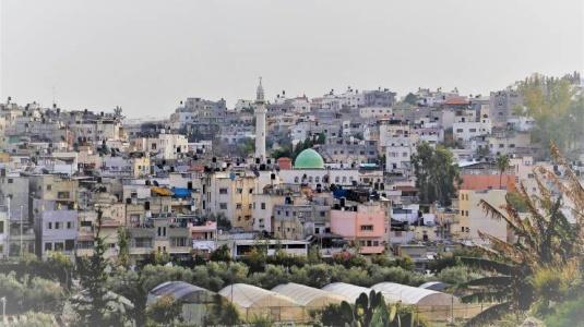 في ذكرى الانتفاضة الاولى ,, مشاهد نادرة لمدينة طولكرم ومخيم نورشمس