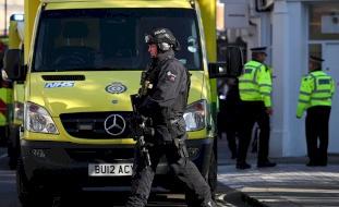 فيديو- طعن مؤذن داخل مسجد في لندن