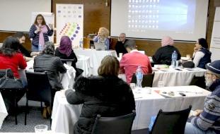 رام الله: شبكة المنظمات الاهلية تختتم ورشة حول البحث العلمي