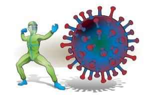 """جديد العلماء: جسم مضاد يضرب """"تاج"""" الفيروس ويهزمه"""