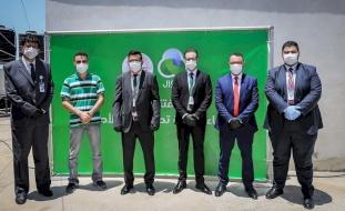 جوال وجمعية مبرة الرحمة تفتتحان محطة تحلية مياه للأطفال
