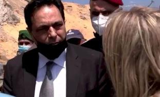 رئيس حكومة لبنان من موقع الانفجار: الناس لديهم الحق بالغضب