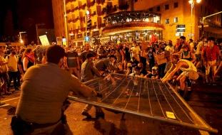 الكنيست تصادق على قانون للحد من التظاهرات ضد نتنياهو