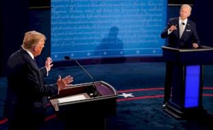 ترامب وبايدن في أول مناظرة.. تبادل اتهامات واشتباك لفظي
