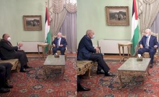 القاهرة: الرئيس يلتقي أبو الغيط وشكري