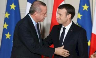 """""""عزيزي طيب"""".. ماكرون يتودد إلى أردوغان برسالة بعد خلاف شديد"""