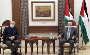 الرئيس يلتقي مجدداً مع رئيس لجنة الانتخابات