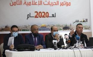 أبو بكر: توثيق 490 انتهاكاً إسرائيليا ضد الصحفيين في العام 2020