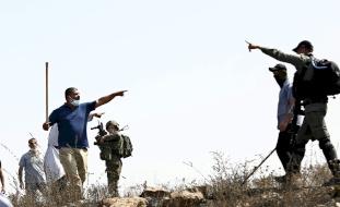مواطنون يتصدون لاعتداء مستوطنين جنوب بيت لحم