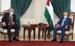 تفاصيل لقاء الرئيس بالمبعوث الأممي لعملية السلام بالشرق الأوسط
