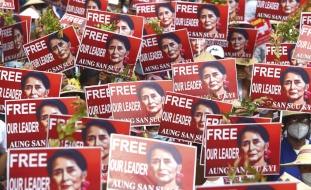 انقلاب ميانمار: توسع الاحتجاجات وعقوبات أممية على الجيش