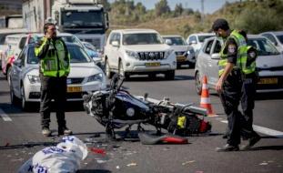 مقتل 17 إسرائيلياً في حوادث طرق خلال أسبوع