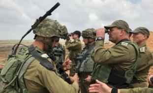 """مناورة إسرائيلية على حدود الأردن: """"داعش يتسلل ويقتحم مدرسة"""""""