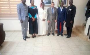 وزير الشؤون الدينية في جمهورية مالي يثني على التجارب والخبرات الفلسطينية