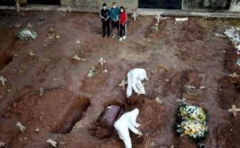 """وفاة كل 16 ثانية.. ماذا يفعل كورونا """"الآن"""" بالكرة الأرضية؟"""
