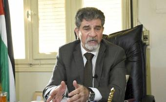 عبد الهادي يطلع سفير بعثة الاتحاد الأوروبي إلى سوريا على تطورات الأوضاع في فلسطين