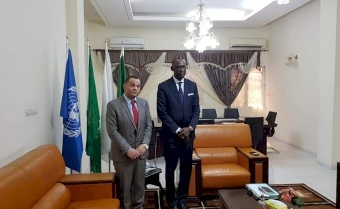 السفير شبلي ووزير خارجية مالي يبحثان سبل تعزيز التعاون الثنائي بين البلدين
