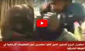 فيديو/ لقاء مؤثر بين جندي سوري ووالدته