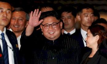 زعيم كوريا الشمالية يصل إلى بكين وسط توتر صيني أميركي