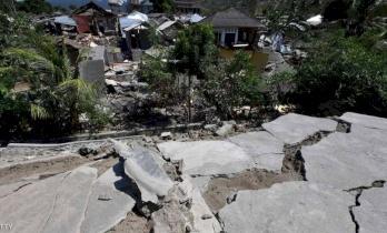 """زلزال عنيف يضرب """"لومبوك """"بعد أيام على الكارثة الأولى"""