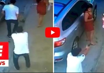 بالفيديو/ خمس رصاصات أصابت المحامي أمام ناظرَي ابنته
