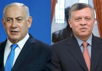 نتنياهو: سنفاوض الأردن