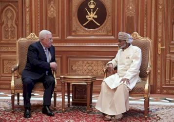 صور| الرئيس يلتقي السلطان قابوس.. وهذا ما تم بحثه