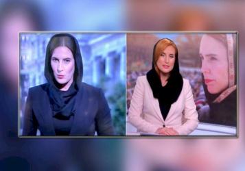 مذيعات نيوزيلندا بالحجاب تضامنا مع ضحايا مجزرة المسجدين