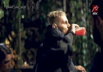 ما هو سر المشروب الذي يتناوله رامز جلال قبل ارتداء زي الغوريلا؟