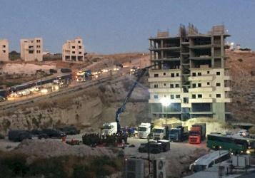 الاحتلال يشرع بهدم منازل حي واد الحمص بالقدس المحتلة