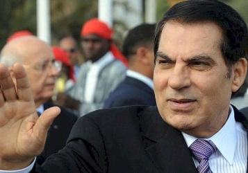 تشييع جثمان بن علي