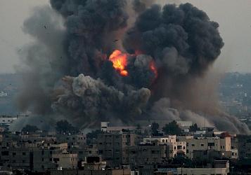 اصابتان في قصف اسرائيلي شرق غزة