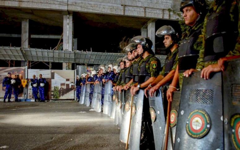 بيت لحم: الشرطة تفرض النظام عقب احتجاجات على خلفية جريمة قتل