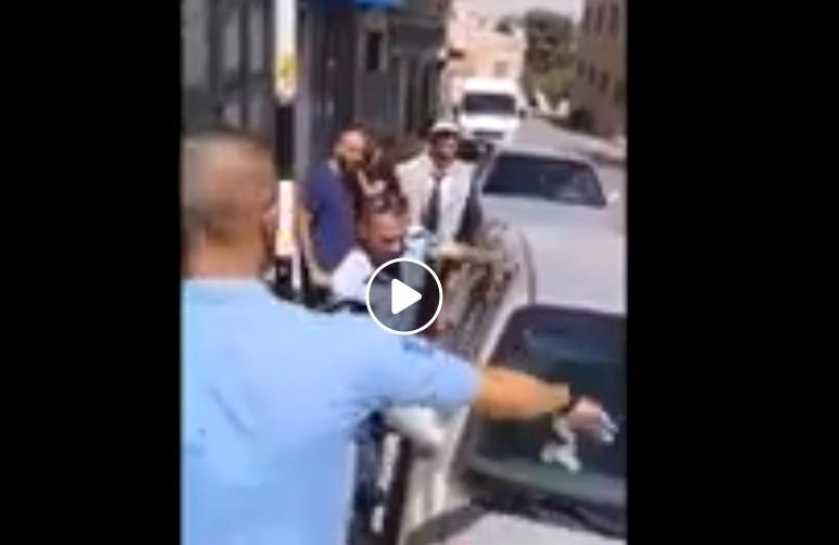 فيديو| انقاذ طفلتين من الموت في بيت جالا