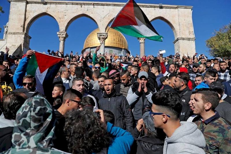 """""""قوى القدس"""" تعلن النفير ضد  مؤتمر البحرين"""