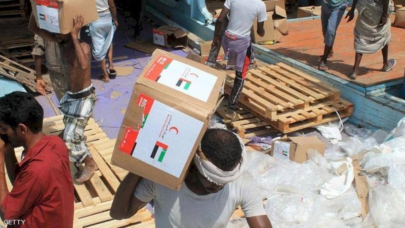الإمارات.. أكبر دولة مانحة للمساعدات في اليمن