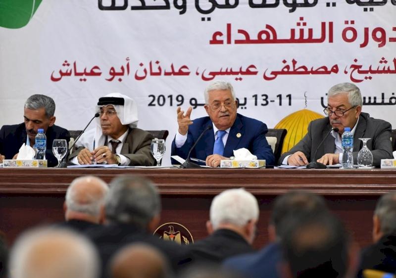 كلمة الرئيس خلال اجتماع المجلس الاستشاري برام الله