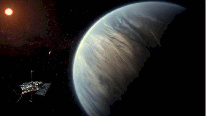 العثور لأول مرة بالتاريخ على الماء في كوكب غير الأرض