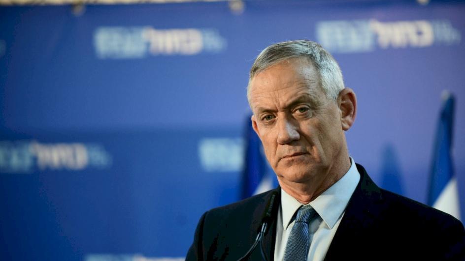 غانتس: سأدعم أي عملية عسكرية ضد غزة