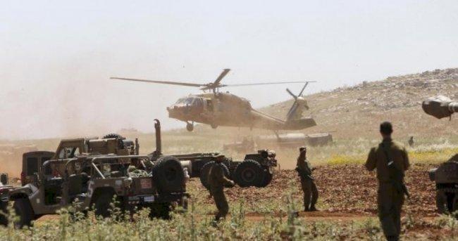 اندلاع النيران في الاغوار بسبب تدريبات جيش الاحتلال