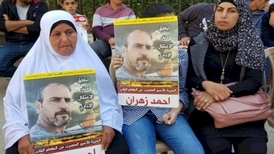 بعد 113 يوماً- الأسير زهران يعلق إضرابه عن الطعام
