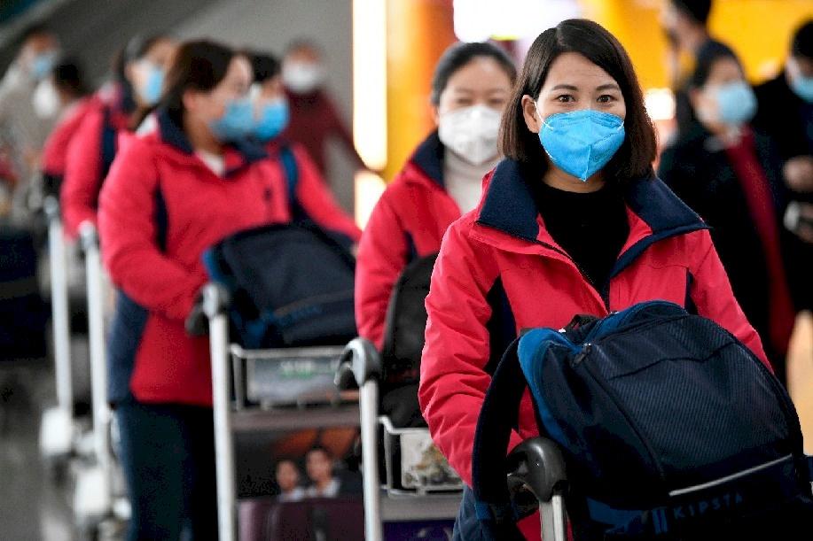 الصين تسجل 5090 إصابة جديدة بكورونا