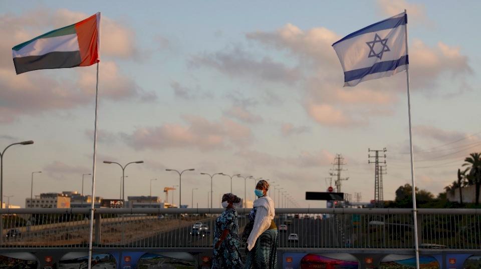 """الإمارات تستهدف علاقات اقتصادية بـ """"تريليون دولار"""" مع إسرائيل"""