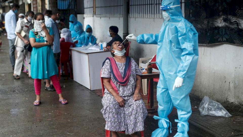 رقم قياسي عالمي.. مليون إصابة كورونا في 11 يوماً بالهند