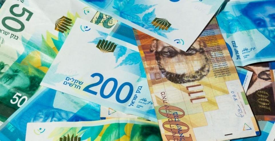 انخفاض أسعار الصرف مقابل الشيكل