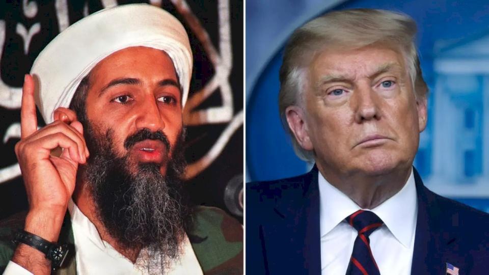 """""""أسامة بن لادن حي"""".. ترامب ينشر تغريدة مثيرة للجدل"""