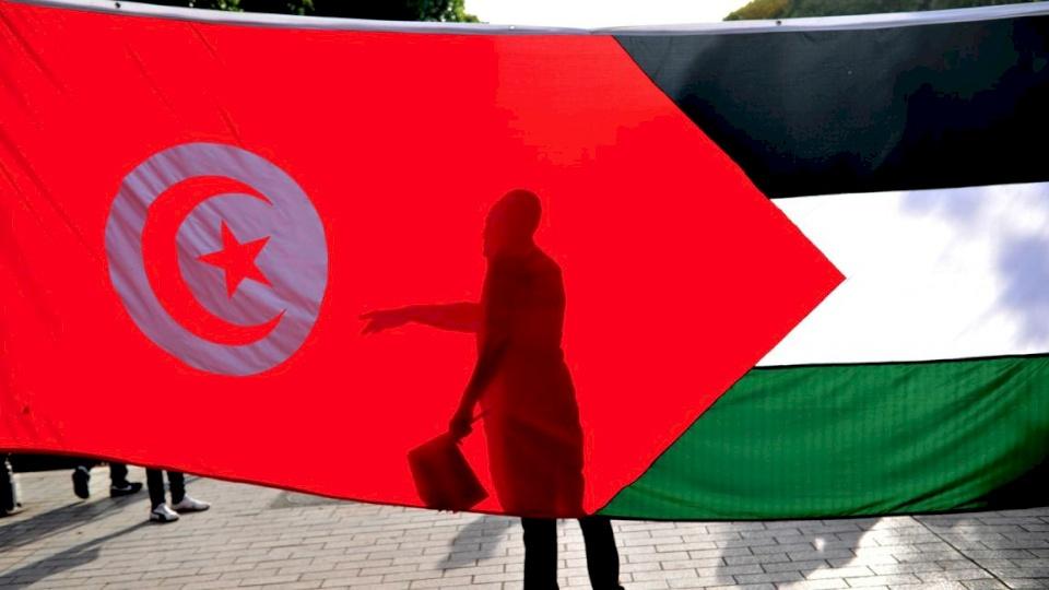 تونس : نقف إلى جانب الحق الفلسطيني في  اقامة الدولة المستقلة
