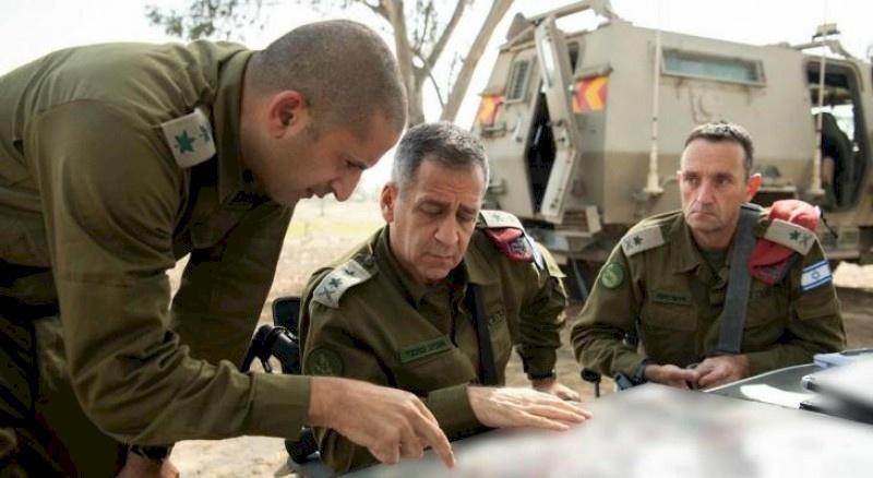 رئيس أركان الجيش الإسرائيلي يجري زيارة أمنية الى غلاف غزة