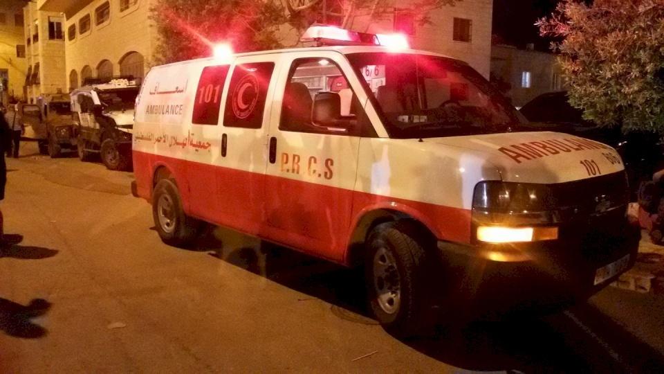 وفاة شاب بحادث سير ذاتي وسط قلقيلية